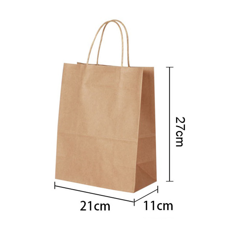 Natural kraft paper bag Favor Paper Gift Bags