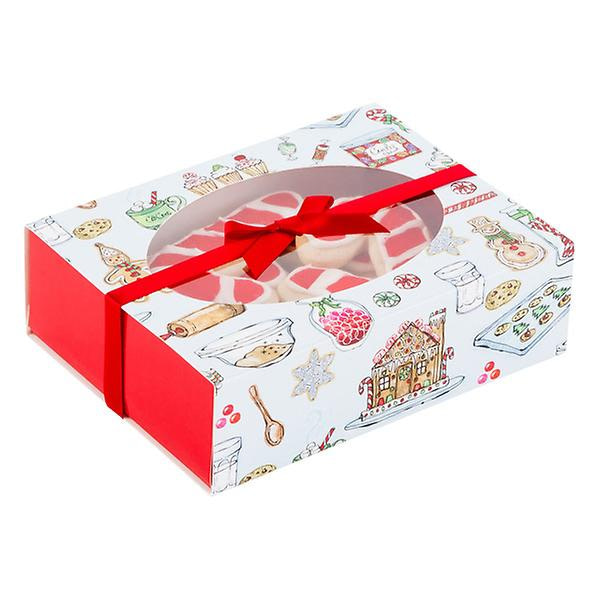 food gift boxes with window