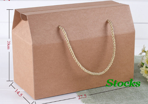 stocks 500gsm kraft paper bag