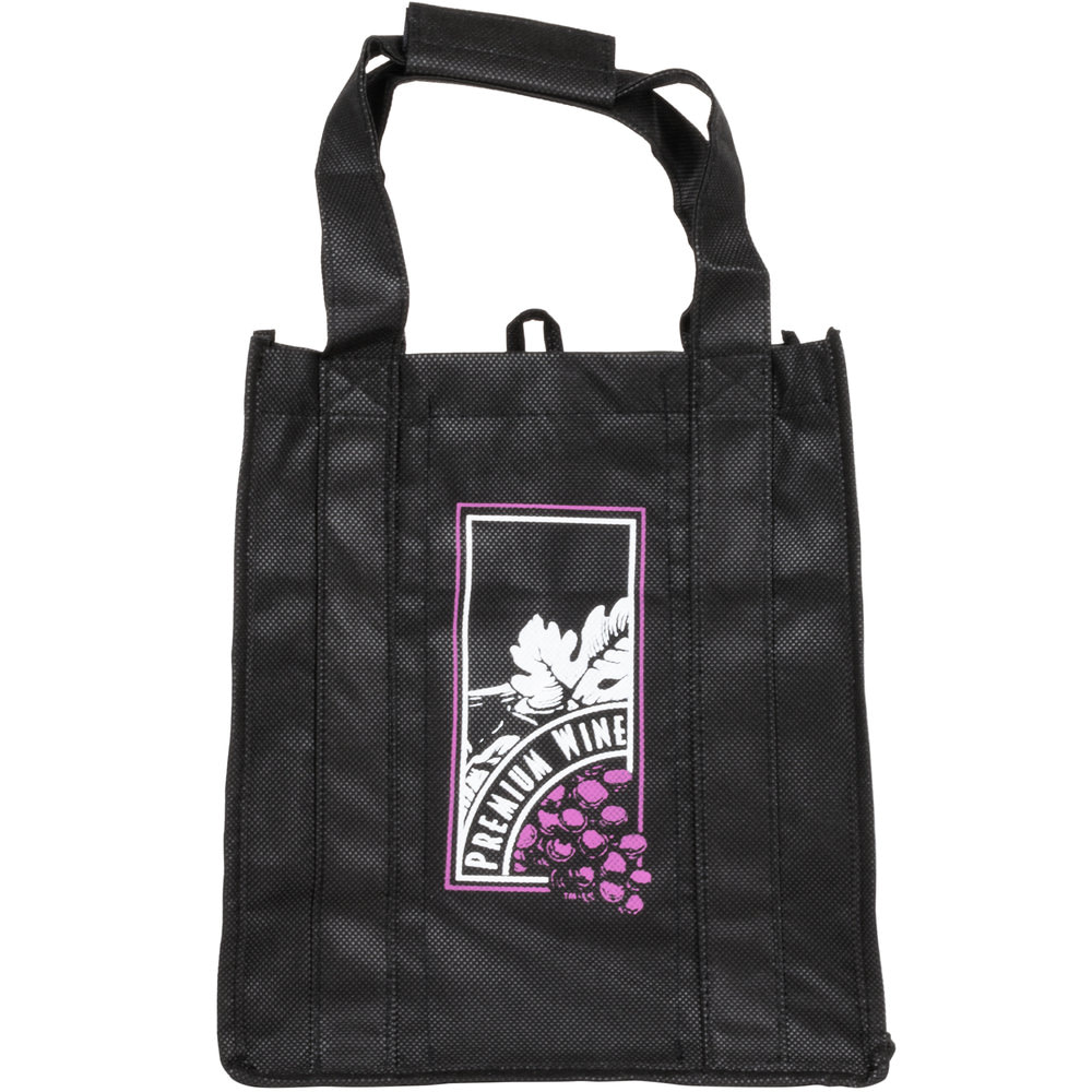 reusable wine shopping bag