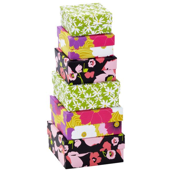 nestd box floral