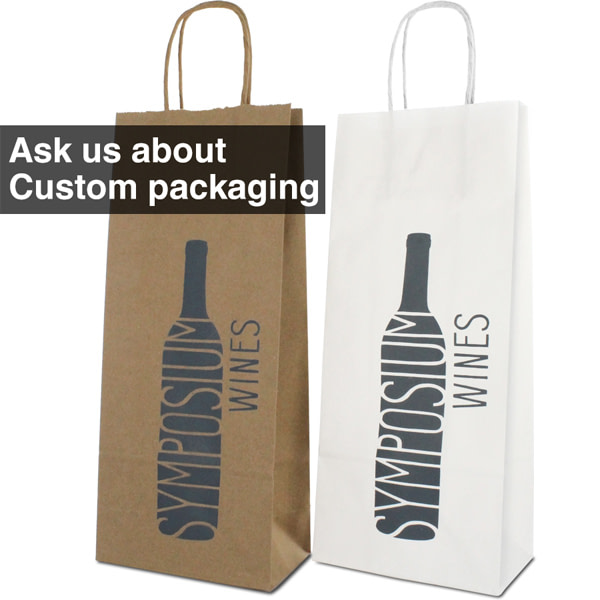 custom packaging wine bags