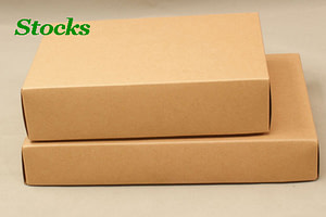 two size 500gsm kraft paper bags